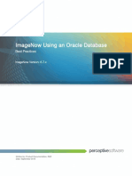 ImageNow Using an Oracle Database Best Practices Guide 6.7.x