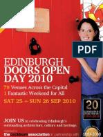 DOD 2010 Brochure