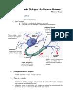 Apostila de Biologia Sistema Nervoso