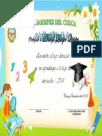 modelo de Diploma Inicial