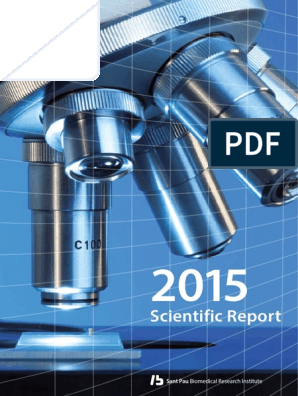 2015 Scientific Report IIB Sant Pau | Health Care | Public