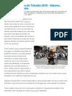 Tabela de Multas de Trânsito 2015 - Valores, Pontos na Carteira.pdf