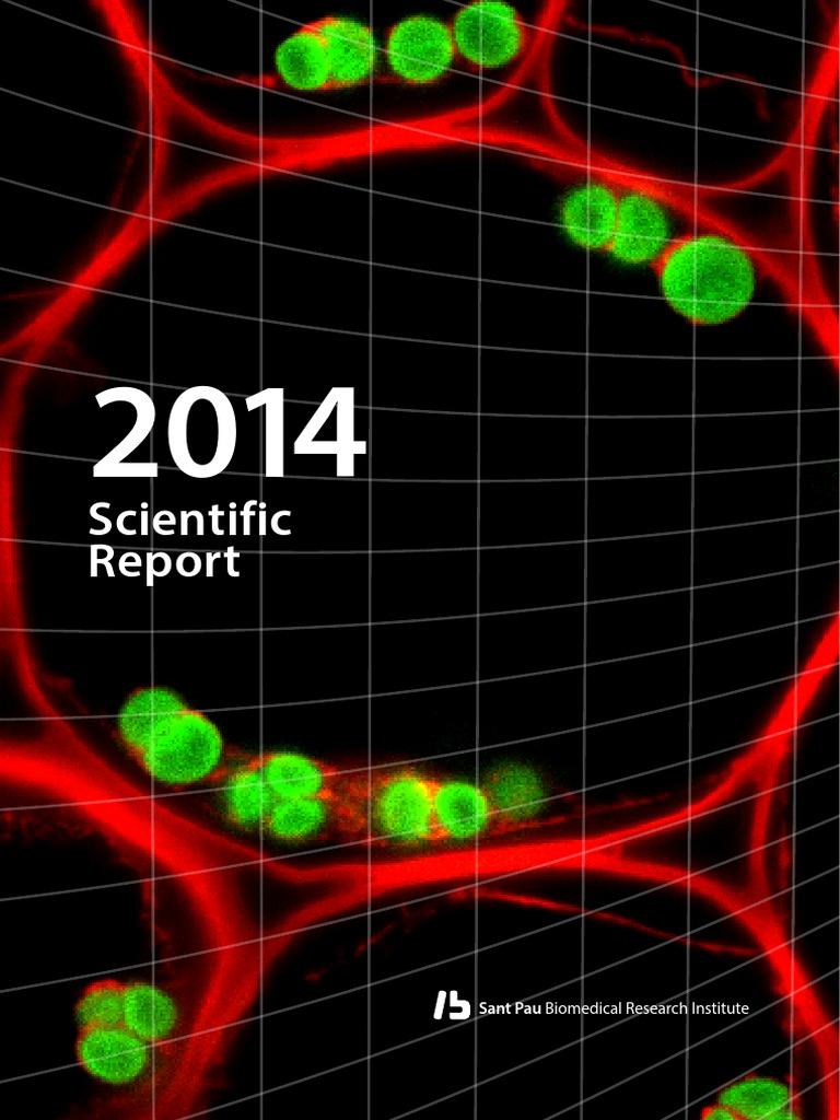2014 IIB Sant Pau Cientific Report | Salud pública | Health Care
