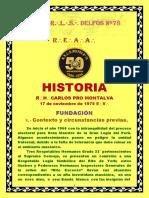 Historia Delfos