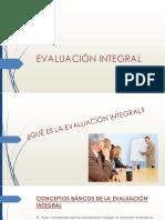 Evaluación Integral Definitivo