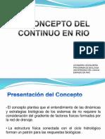 El Concepto Del Continuo en Rio