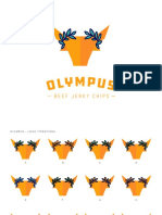 Olympus Jerky Logo and Packaging