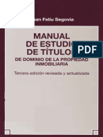 Feliu - Manual de Estudio de Titulos