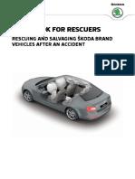 Skoda Guidebook for Rescuers English