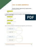 El Signo Lingüístico - Practica