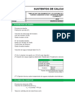 VVND a 16 C E 001 00 Cálculos Biodigestor