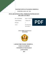 Laporan Praktikum Pengantar Kimia Medisinal