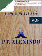 Brosur Aluminium Alexindo