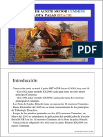 Resumen Control de Friccion - Motores - Flota Palas Hitachi - Yanacocha