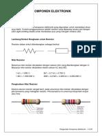 3-Pengenalan Komponen Elektronik