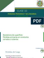 Clase 10 -  Perdidas Primarias y Secundarias
