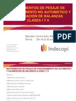 1ra Clase Balanza 1 y II