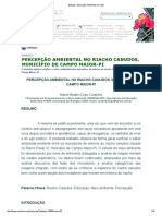 [Artigo] - Educação Ambiental Em Ação 2