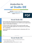 03 Introduction to Visual Studio IDE