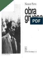 Nicanor Parra Poems