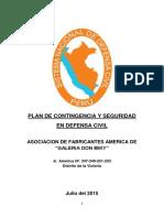 Plan de Contingencia y Seguridad en Defensa Civil
