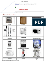 Lexique _ Dans La Cuisine