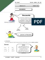 1er. Año - ALG - Guía 6 - Monomios.doc