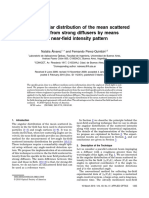 Far-field Angular Distribution of the Mean Scattered Intensity From Strong Diffusers by Means of a Near-field Intensity Pattern_N_Alvarez