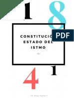 Constitución Del Estado Del Istmo de 1841