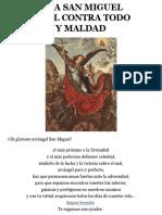ORACION A SAN MIGUEL ARCANGEL CONTRA TODO ENEMIGO Y MALDAD.pdf