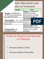 Sociedades Mercantiles Mas Usadas en Venezuela
