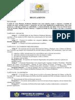 Regulamento XXXII Waldemar Belisario1