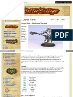Battlecollege - Adeptis Rahn – Retribution Warcaster