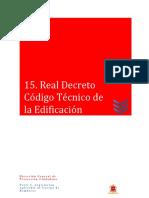Real Decreto Código Técnico de La Edificación