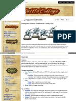 Battlecollege - Dawnguard Destors – Retribution Cavalry Unit