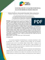 ANÁLISE DAS CONCENTRAÇÕES DE CO E H2S PROVENIENTES DA BIODEGRADAÇÃO DOS RESÍDUOS SÓLIDOS URBANOS