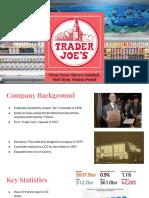 mktg 181 - trader joes