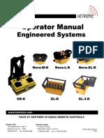 Wireless Remote Manual Hetronic