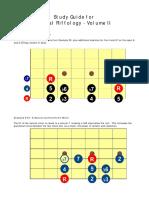 Metal Riffology Volume II-Study Guide
