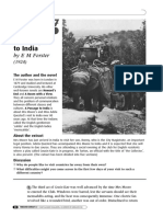 Unit 7 - A Passage to India - Reading and Listening