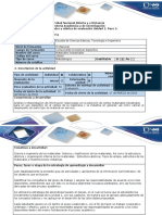 Guia de actividades y Rubrica Evaluación. Unidad 1 Paso 3 -