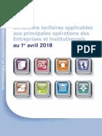 Lcl Guide Tarifaire 2018
