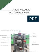 Cameron Wellhead CCU Panel