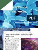 Factores de Virulencia Toxinas