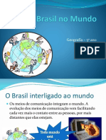 Geografia 5º Ano O Brasil No Mundo