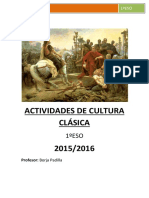 Actividades Cultura Clasica