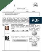 Modelos Atomicos y Estructura Atómica