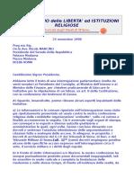 TdG Lettera All'Onorevole Mancino