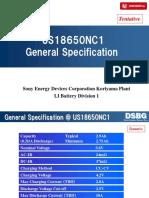 Sony Us 18650 Nc1