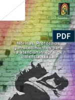 NORMAS Violencia Sexual